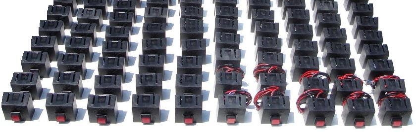 Hand Truck Sentry System - HTS Systems' LED Dash Release Switches
