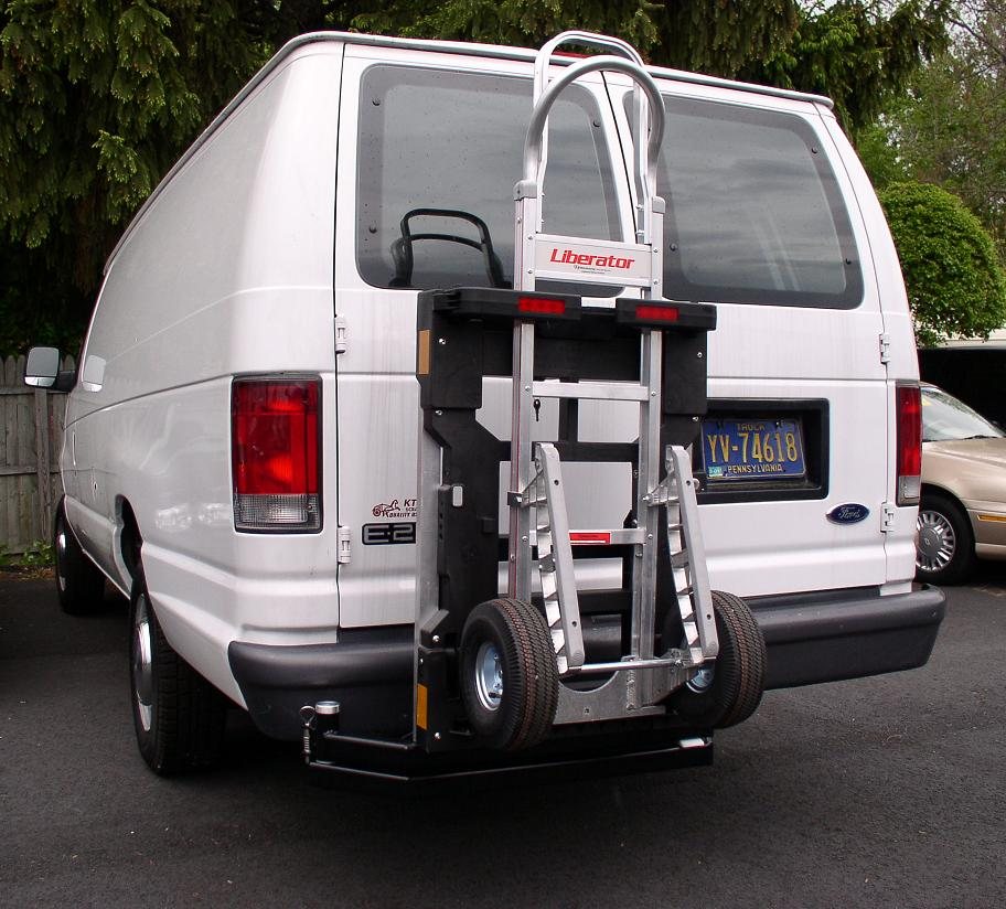 Ford E250 Van  HTS-20S Swing Mount  B&P Liberator